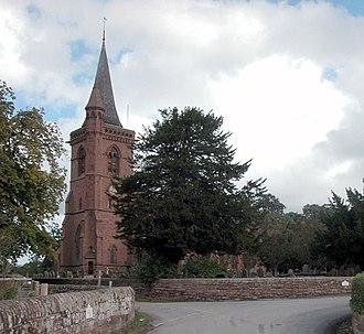Aldford - Image: St John's Church, Aldford