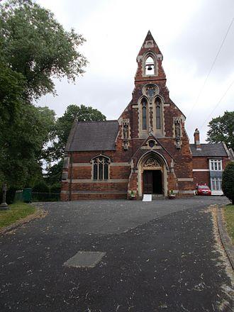 Nechells - St. Joseph's Catholic Church, Long Acre.