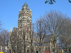 Dalston - Image: St Mark's Church, Dalston geograph.org.uk 386321