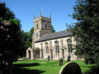 Whissonsett village in the United Kingdom