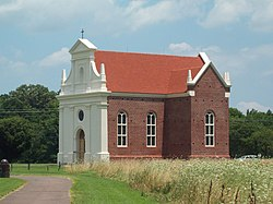 St Marys City Historic District Catholic Church Jul 09.JPG