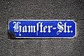 Staßfurt Hamster-Str Straßenschild.jpg