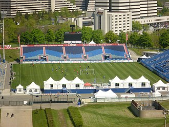 Montreal Impact (1992–2011) - Stade Saputo, Impact's home stadium since 2008