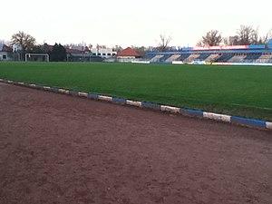 Stadionul Municipal (Alexandria) - Image: Stadionul de fotbal 'Sintetic' panoramio