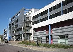 Stadtteilzentrum Kirchberg, rue Alphonse Weicker - 2006.jpg