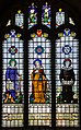 Stained glass window, St Lawrence church, Hawkhurst (15102894968).jpg