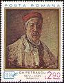 Stamp 1972 - Gheorghe Petrascu - Autoportret.jpg