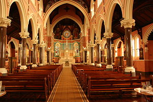 St Mary Star of the Sea, West Melbourne - The Interior at St Mary's