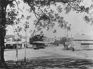 Annerley, Queensland - Junction of Ipswich and Annerley Roads c.1915