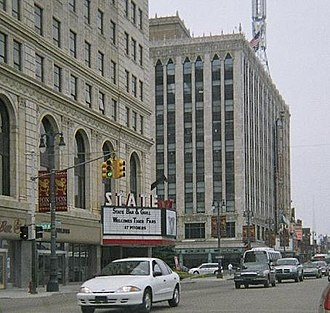 Performing arts in Detroit - The Fillmore Detroit is located beside the Fox Theatre along Detroit's Woodward Ave.