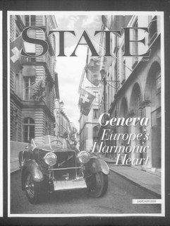 Magazine Publication typically published and distributed at a regular interval