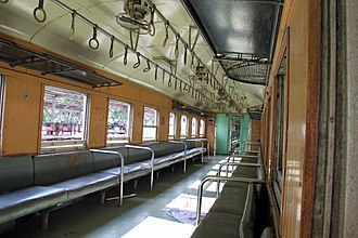 State Railway of Thailand - Third-class carriage of Thailand State Railways