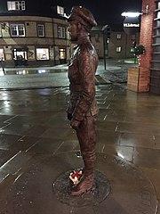Statue of Allan Leonard Lewis