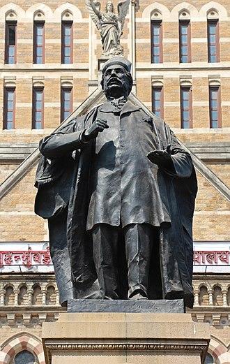 Pherozeshah Mehta - Statue of Sir Pherozeshah in Mumbai