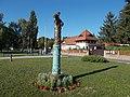 Statue of Szépasszony by Zsóka Debreczeni, Zoltán Pelcz in Eger, 2016 Hungary.jpg
