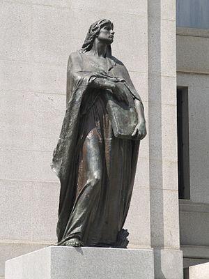Truth - Walter Seymour Allward's Veritas (Truth) outside Supreme Court of Canada, Ottawa, Ontario Canada