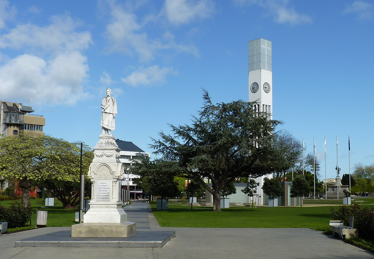 file statue on the square palmerston north in new zealand. Black Bedroom Furniture Sets. Home Design Ideas