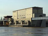 Staustufe Griesheim Generatorhaus