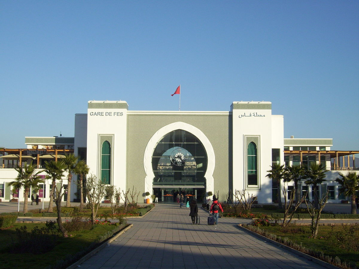 Fes railway station - Wikipedia