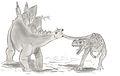 Stegosaurus et Ceratosaurus.jpg