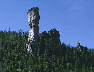 """Ochoco National Forest - Steins Pillar (Known as the """"Big One"""" around the area)"""