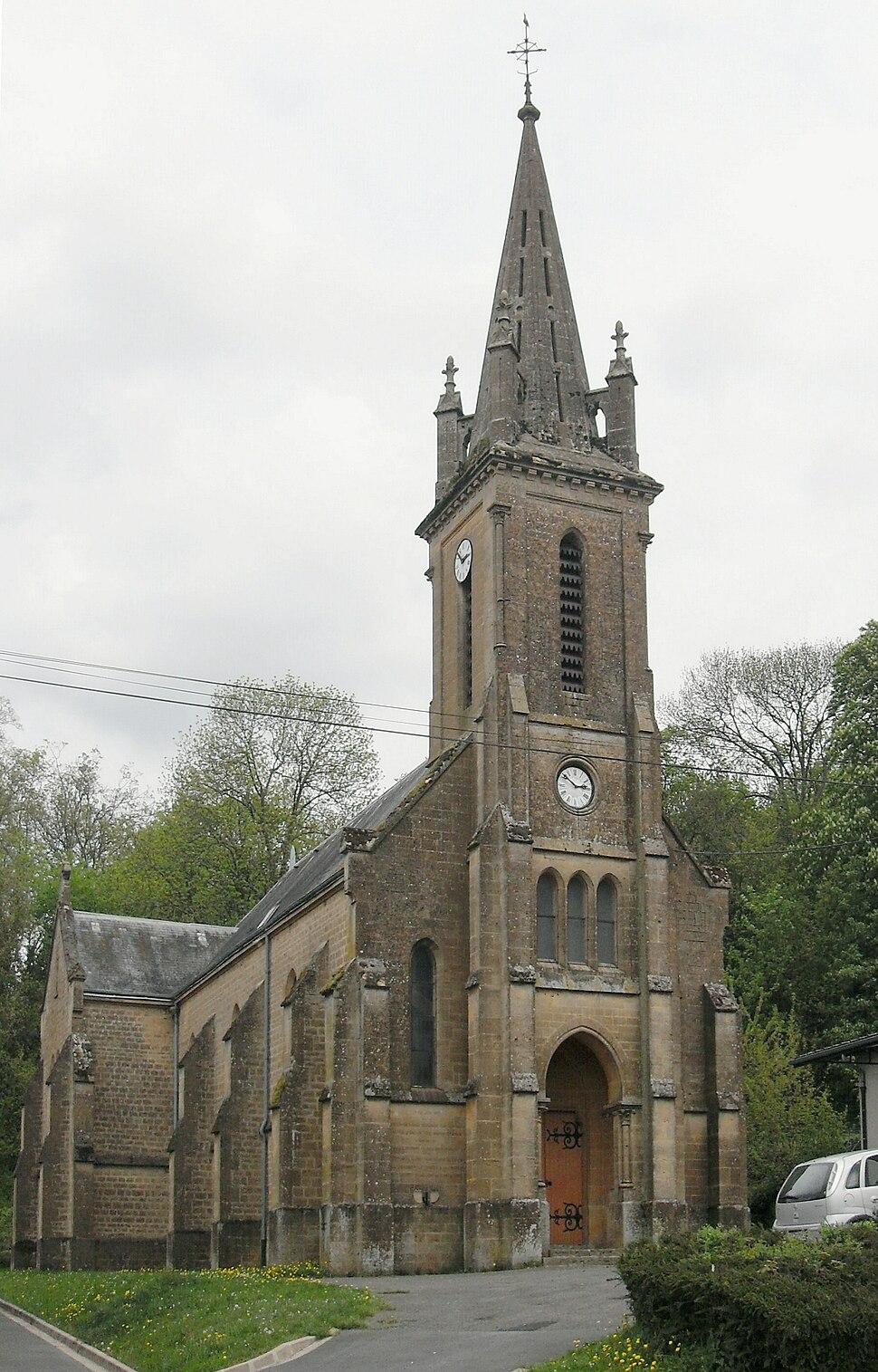 Stenay, Église Saint-Joseph de Cervisy