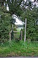 Stile on Within Lane, Stafford - geograph.org.uk - 266038.jpg