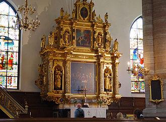 German Church, Stockholm - Altar.