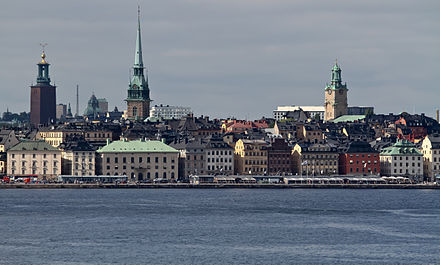 Stockholm, Sweden provided for much of the setting of The Girl with the Dragon Tattoo. Stockholm 8187.jpg
