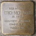 Stolperstein Erich Michaelis Reinickendorfer Straße 28 0102.JPG