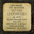 Stolperstein Nathan Lindenberger Otto Braun Str 70 Berlin.jpg