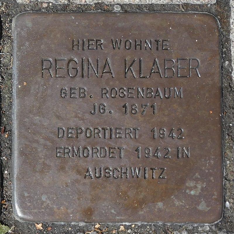 Stolperstein Regina Klaber in Borken (Westfalen).jpg