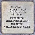 Stolperstein für Jenö Lakos (Budapest).jpg