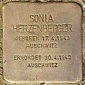Stolperstein für Sonia Herzenberger (Salzburg).jpg