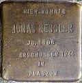 Stumbling block for Jonas Kessler (Kartäuserhof 8)