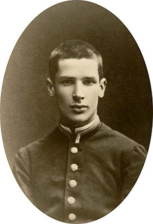Pyotr Stolypin - Photo of 14-year-old Stolypin