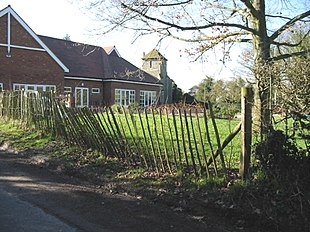 Stowting church and school