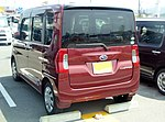 Subaru CHIFFON G Smart Assist (DBA-LA600F) rear.jpg