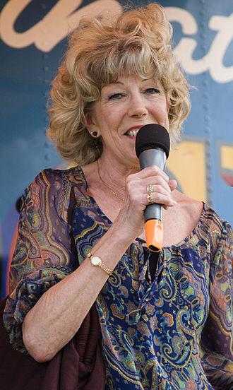 Sue Nicholls - Nicholls in 2010