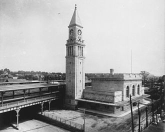 North Toronto station - The station shortly after its opening in 1916