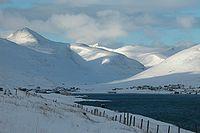 Sundini with Hvalvík Streymoy in the winter, faroe islands.jpg