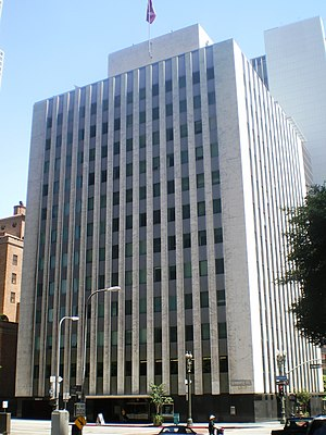 Perry Mason (TV series) - The Superior Oil Company Building in Los Angeles, used for exteriors of the fictional Brent Building where Perry Mason's offices were located (2008)