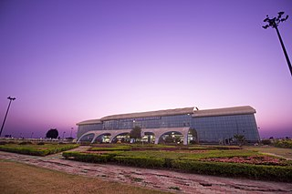 International airport in Surat, India