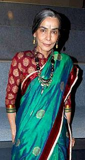 A picture of Surekha Sikri.