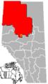 Swan Hills, Alberta Location.png