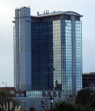 BT Tower (Swansea) - Image: Swansea bt tower