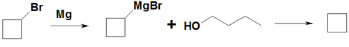 Synthesis of ciclobutane from bromid.png
