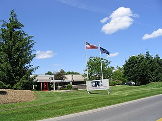 Cicero, New York - Syracuse Research Corporation Headquarters is located in Cicero.
