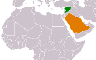 Diplomatic relations between the Kingdom of Saudi Arabia and Syria