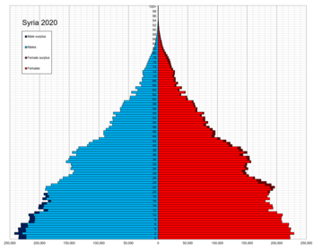 Syria single age population pyramid 2020.png